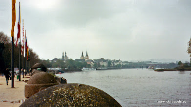 Photo: Koblenz. Deutsche Eck.