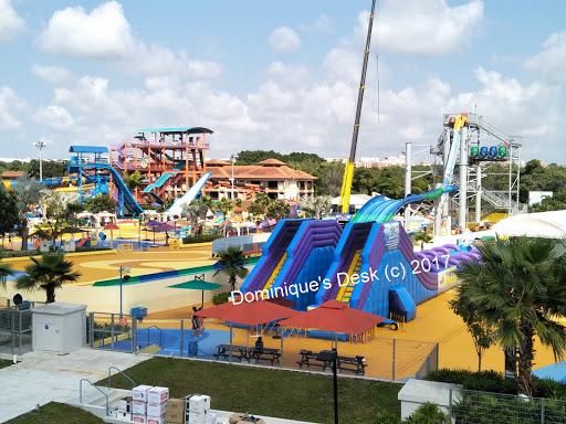 The slides at Wild Wild Wet