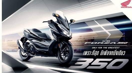 Nuevo Honda Forza 350 con el motor de 29 CV,  ya a la venta por 5.950 euros