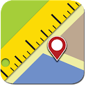 Maps Ruler icon