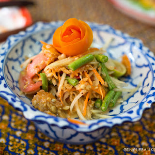 Som Tam Thai [Papaya Salad].