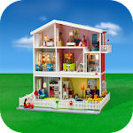 barbie doll house plans Icon
