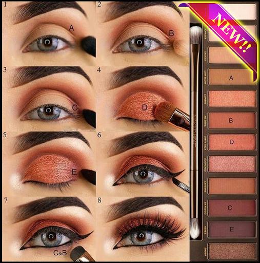 step by step make up (learn make up) 1.0.1 screenshots 9