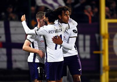 Anderlecht ne fait pas dans la dentelle et déroule à la RAAL malgré un Tivoli en feu