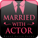 Novel Married With Actor icon