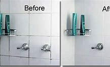 regrouting a shower