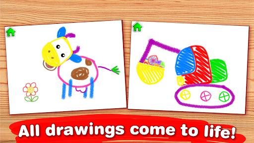 Children Coloring Games for kids! Preschool games 2.0.1.0 screenshots 3