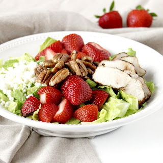 Barbi Salad (Strawberry Salad)