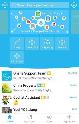 Lenovo CoChat