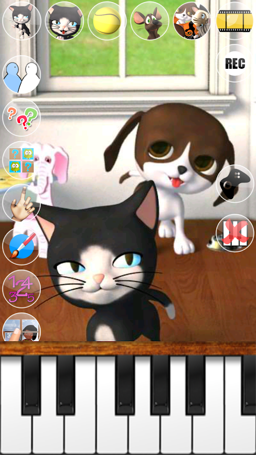 Talking Cat & Background Dog - screenshot