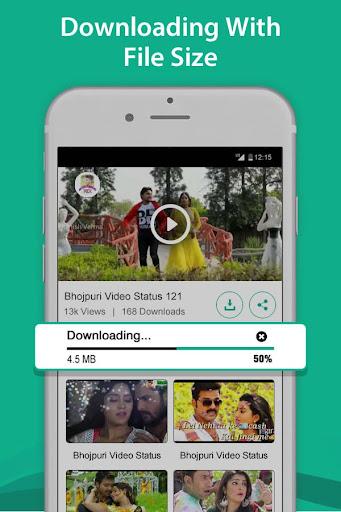 Bhojpuri video status - Video song status 1.0 screenshots 4