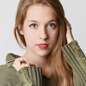 Amanda # 17 by Ryk Novaux - People Portraits of Women (  )
