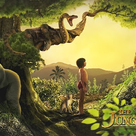 The Jungle Book by Iwan Setiawan - Typography Captioned Photos ( #junglebook )