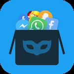 Hide Apps: 2 accounts app hider; hidden apps 1.2.08