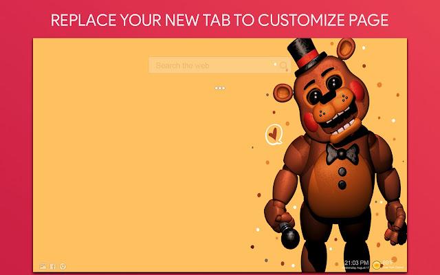 Freddy Fnaf Wallpaper HD Custom New Tab