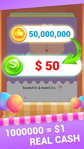 Super Money - Free Scratchcards , Big Prizes 1.0.1 screenshots 2