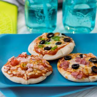 Mini Pita Pizzas.