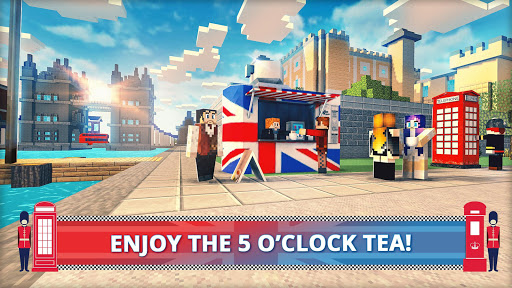 London Craft: Blocky Building Games 3D 2018 1.2 screenshots 2