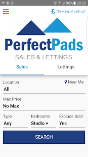 Perfect Pads Property Search- screenshot thumbnail