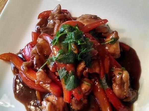 Asian Chicken In Garlic Sauce