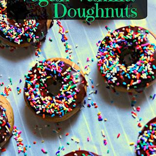 Vegan Vanilla Doughnuts