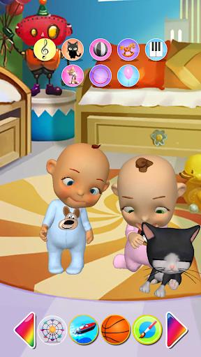 Talking Baby Twins Newborn Fun  screenshots 3