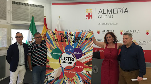 Almería celebra a lo grande su Orgullo LGTBI