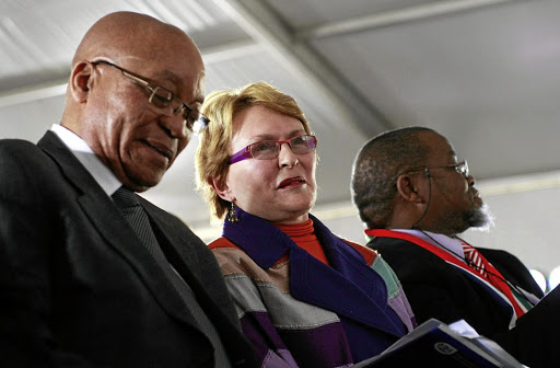 We're totes shipping for Zuma & Zille to hook up in 2018