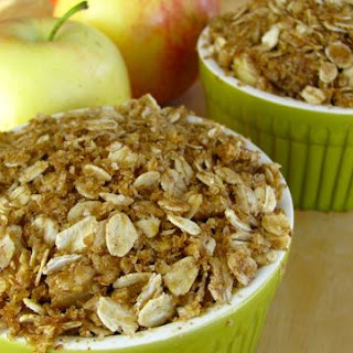 Clean Eating Individual Apple Crisp Recipe