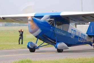 Photo: Replika samolotu RWD-5, który pozostaje do dzisiaj najmniejszym samolotem, który przeleciał Atlantyk