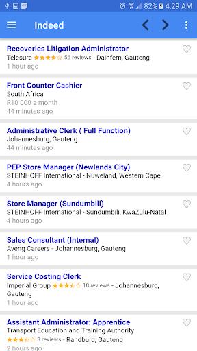 Job vacancies in South Africa 1.7 screenshots 2