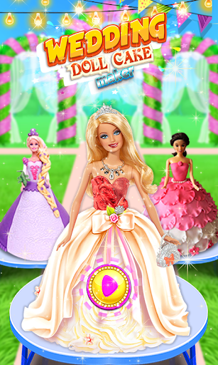 Wedding Doll Cake Decorating 3.3 screenshots 1