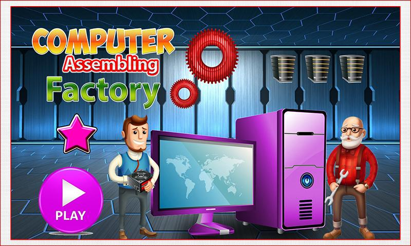 Computer Assembling Factory: Builder & Fix It Game- screenshot