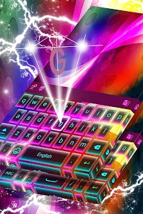Colorful Keyboard for Redraw - náhled