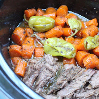 Homemade Mississippi Roast in the Slow Cooker