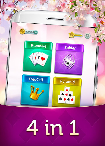 Magic Solitaire - Card Game apktreat screenshots 2