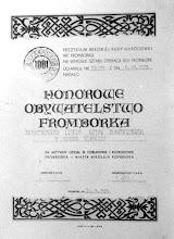 "Photo: 1973 - Dyplom Honorowega Obywatelstwa Miasta Fromborka dla hm. G. Nowak i 18 uczniów, ""Operacja 1001 Fombork"""