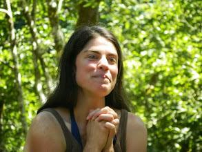 Photo: Sharon, at Hagg Lake Picnic