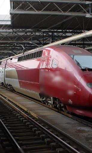 比利时火车壁纸