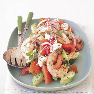Shrimp and Tomato Summer Salad.