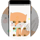 Download cute fox graffiti doodle pets theme For PC Windows and Mac