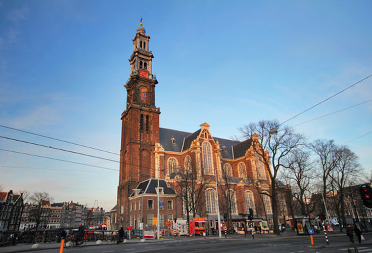 Westerkerk at sunset.  Photo: Ana Poga'ar.