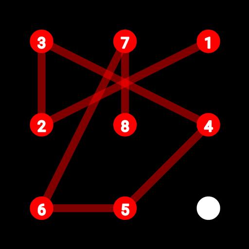 程式库与试用程式のパターンロック認証テスト LOGO-記事Game