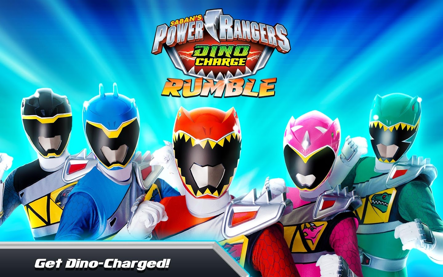 Power Rangers Dino Rumble- screenshot