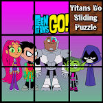 Teen Titans Go Sliding Puzzle : Slide for Kids Icon