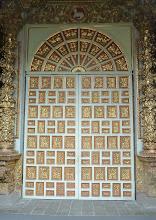 Photo: Outside door of La Compania