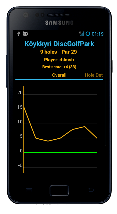 Disc Caddy ● Disc Golf app- screenshot