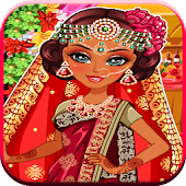 indian wedding game dress up