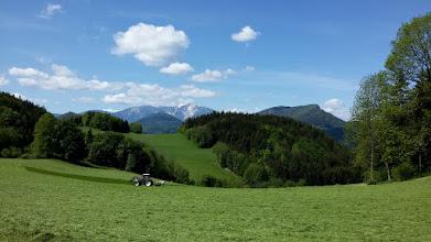 Photo: Schneeberg und Dürre Wand