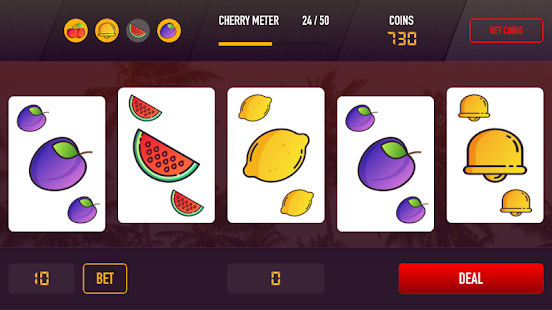 fruit poker online casino